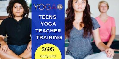 Certified Teens Yoga Teacher Training