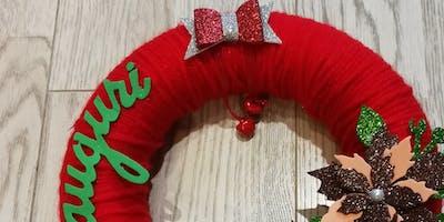 [Adulti] Creiamo una ghirlanda fuoriporta natalizia!10€ - Materiali inclusi