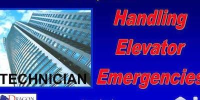 Handling Elevator Emergencies - Technician Level - July 17, 2019