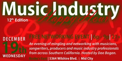 SCMIP Music Industry Happy Hour 12th Edition