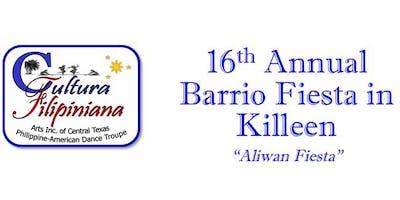 "Cultura Filipiniana's 16th Annual Barrio Fiesta In Killeen ""Aliwan Fiesta"""
