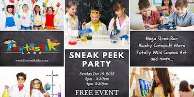 Kids Sneak Peek Party (2pm)