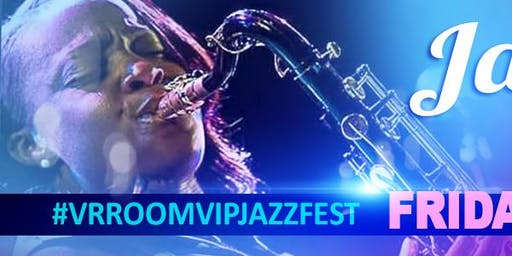 Jazmin Ghent@ the 3rd Annual VrroomVIP JazzFEST - (2 for 1 concert) - *Limited*