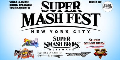 Mashfest Happy Hour Featuring Smash Ultimate!