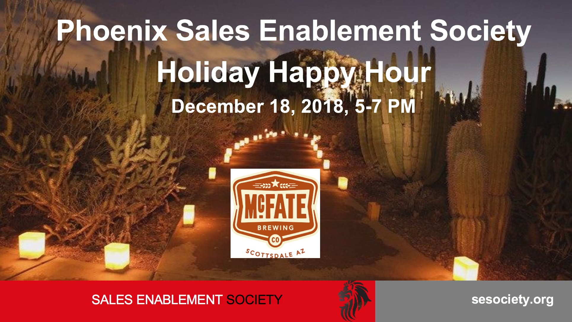 Phoenix SES Holiday Happy Hour