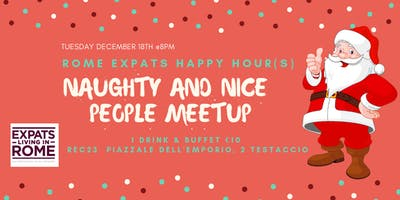 Rome Expats: Naught & Nice People Meetup