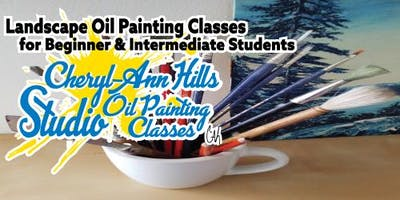 Cheryl Ann Hills Studio Oil Painting Classes Winter 2B Session Feb 7 2019