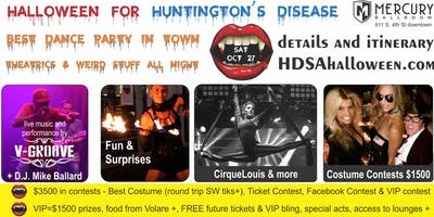 Halloween for Huntington's Disease - Mercury Ballroom Dance Party