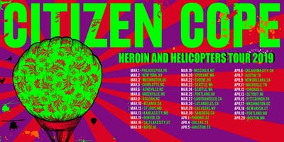 Citizen Cope at College Street Music Hall (April 18, 2019)