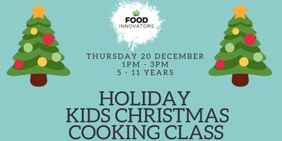 Kids Christmas Cooking Class 2 / 1pm-3pm