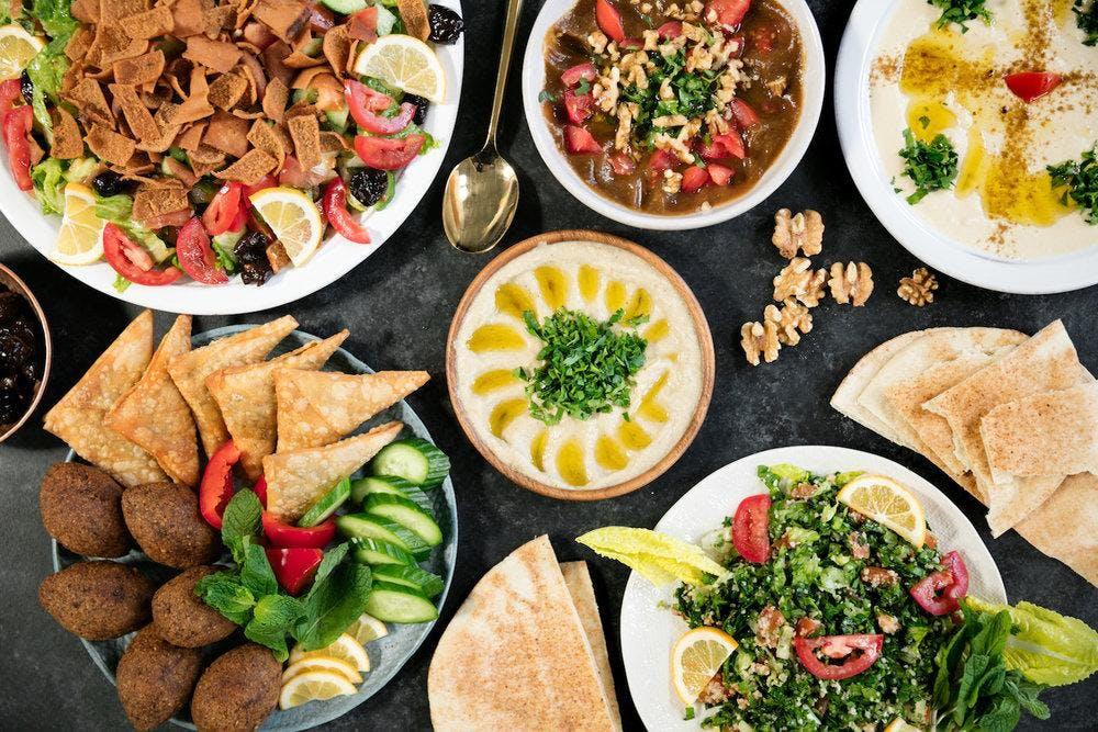 Syrische sociale eet avond in het Cruydenhuis
