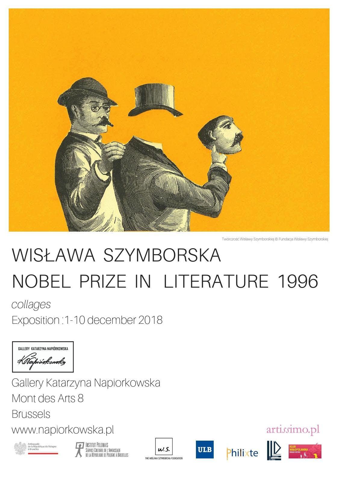 Wislawa Szymborska // Prix Nobel de Litterature // Collages