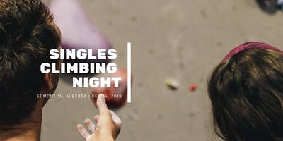 Singles Indoor Climbing Night in Edmonton for people 30-45 yrs old