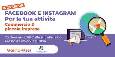 Workshop Facebook e Instagram per la tua attività Commercio & Piccola Impresa