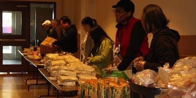 Lake Merritt Food Pantry Distribution