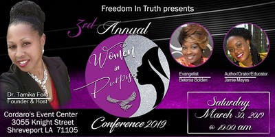 3rd Annual Women in Purpose Conference