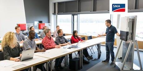 Auslegung und Inbetriebnahme von SMA-Speichersystemen - Praxisseminar | 11 Nov - 12 Nov Tickets