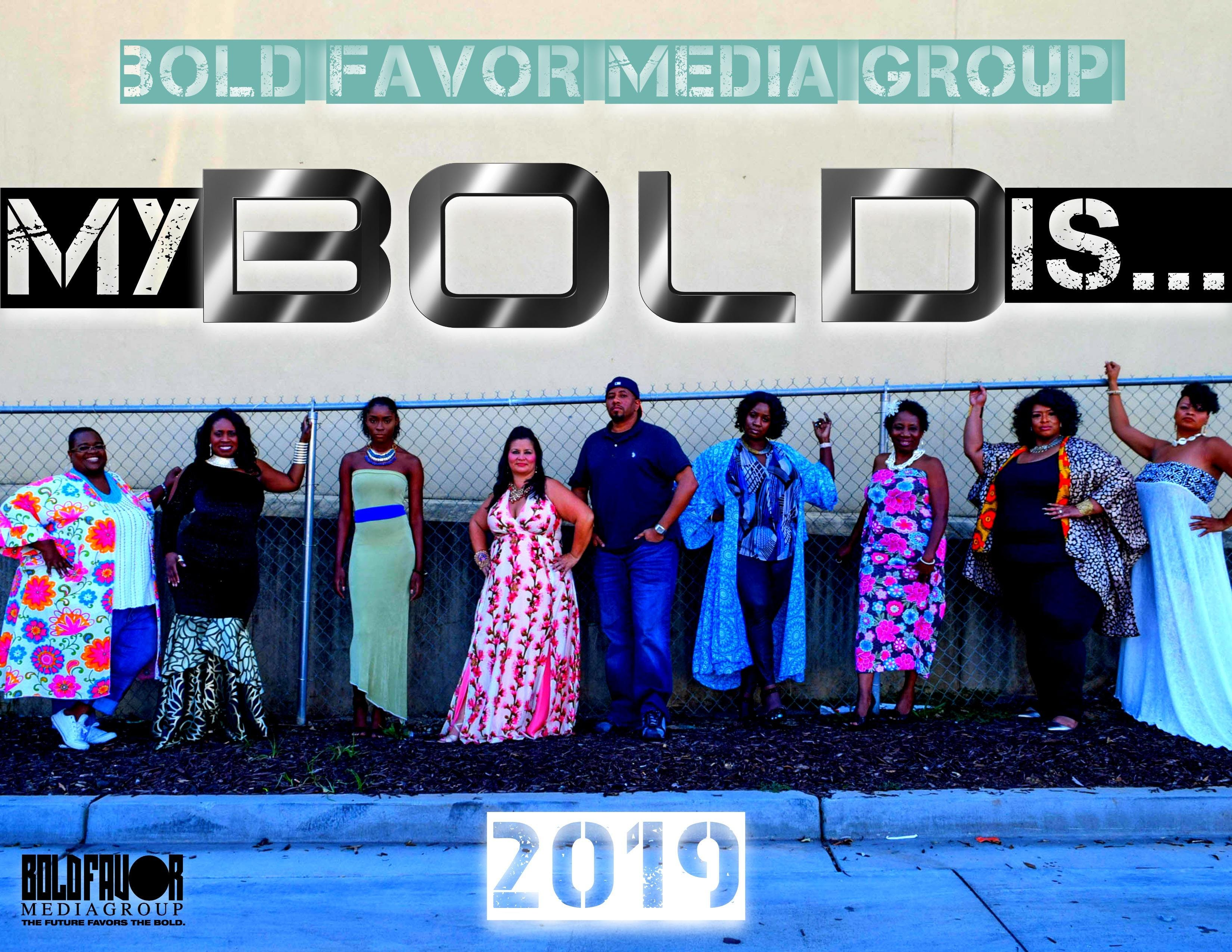 My BOLD Is... 2019 Calendar by BOLD Favor Media Group