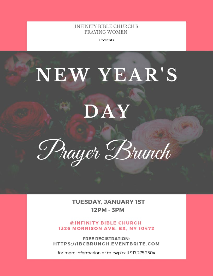 New Years Day Prayer Brunch at Infinity Bible Church, Bronx