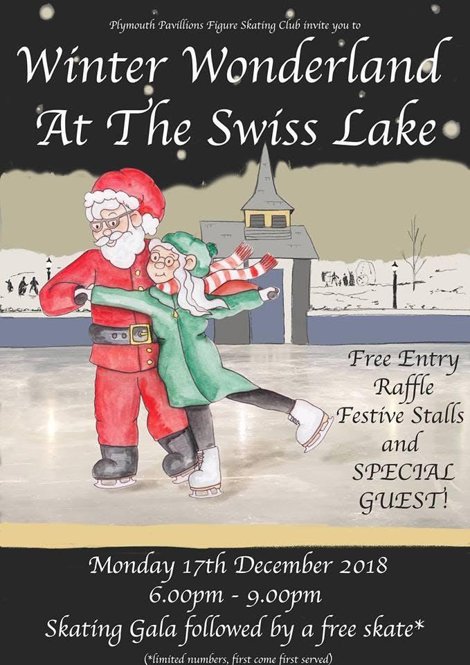Winter Wonderland at the Swiss Lake