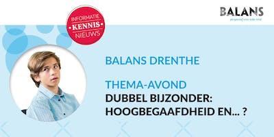 Thema-avond Balans Drenthe, \