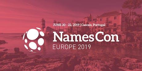 NamesCon Europe 2019 bilhetes