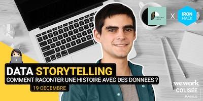 Data Storytelling : Comment raconter une histoire avec des données ?