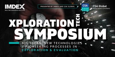 Xploration Technology Symposium - Presented by IMDEX and CSA Global