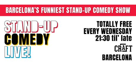 The Biggest Stand-up Comedy Show in Barcelona (in English) FREE! entradas
