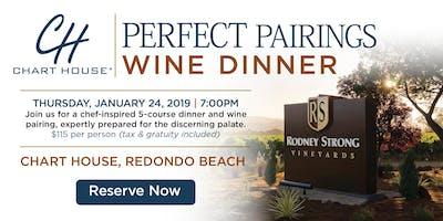 Chart House Rodney Strong Wine Dinner - Redondo Beach, CA