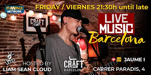 Barcelona Music Showcase - the best talent in Barcelona!