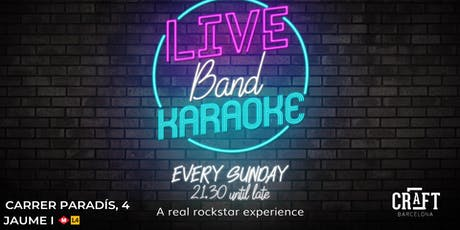 Live Band Karaoke tickets