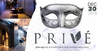 PRIVE: PRE-NEW YEARS EVE MASQUERADE