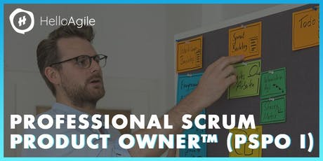Professional Scrum Product Owner: Workshop & Zertifizierung™ (PSPO) tickets