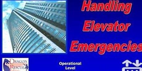 16 hr Handling Elevator Emergencies Operations (2 days) tickets