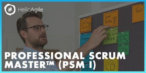 Professional Scrum Master: Workshop & Zertifizierung™ (PSM)