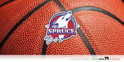 Spruce vs South Oak Cliff JV/Varsity Basketball (Girls)