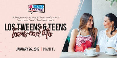 Teens And Me: A Program for  Adults & Teens to Connect, Learn & Create