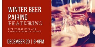 Winter Beer Pairing Collaboration with Laureate Publick House