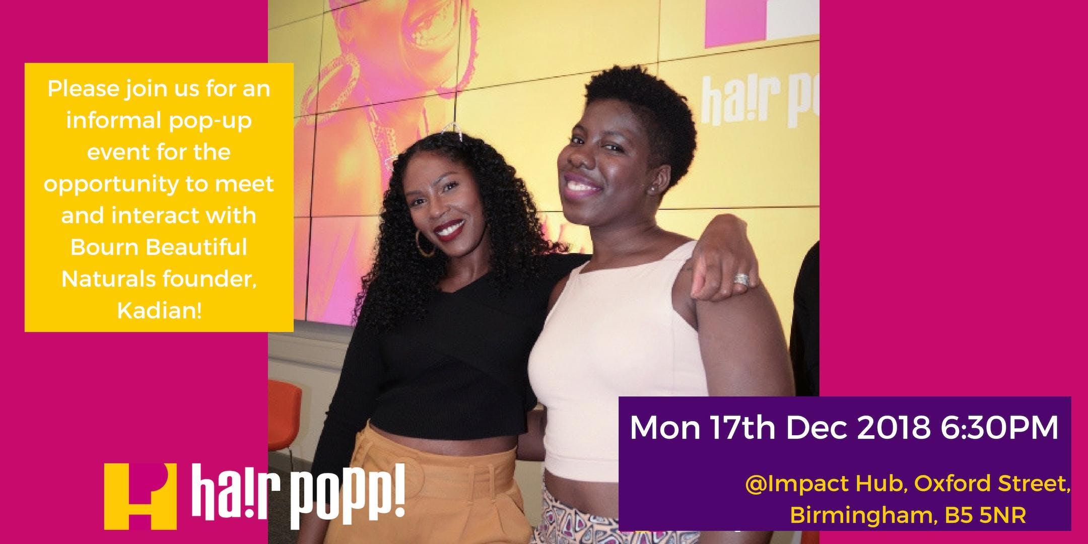 hair popp! talk and tutorial