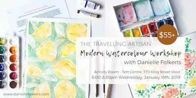 Modern Watercolour Workshop