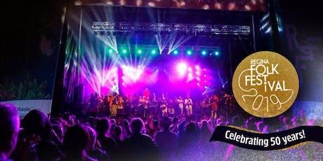 Regina Folk Festival 2019 tickets