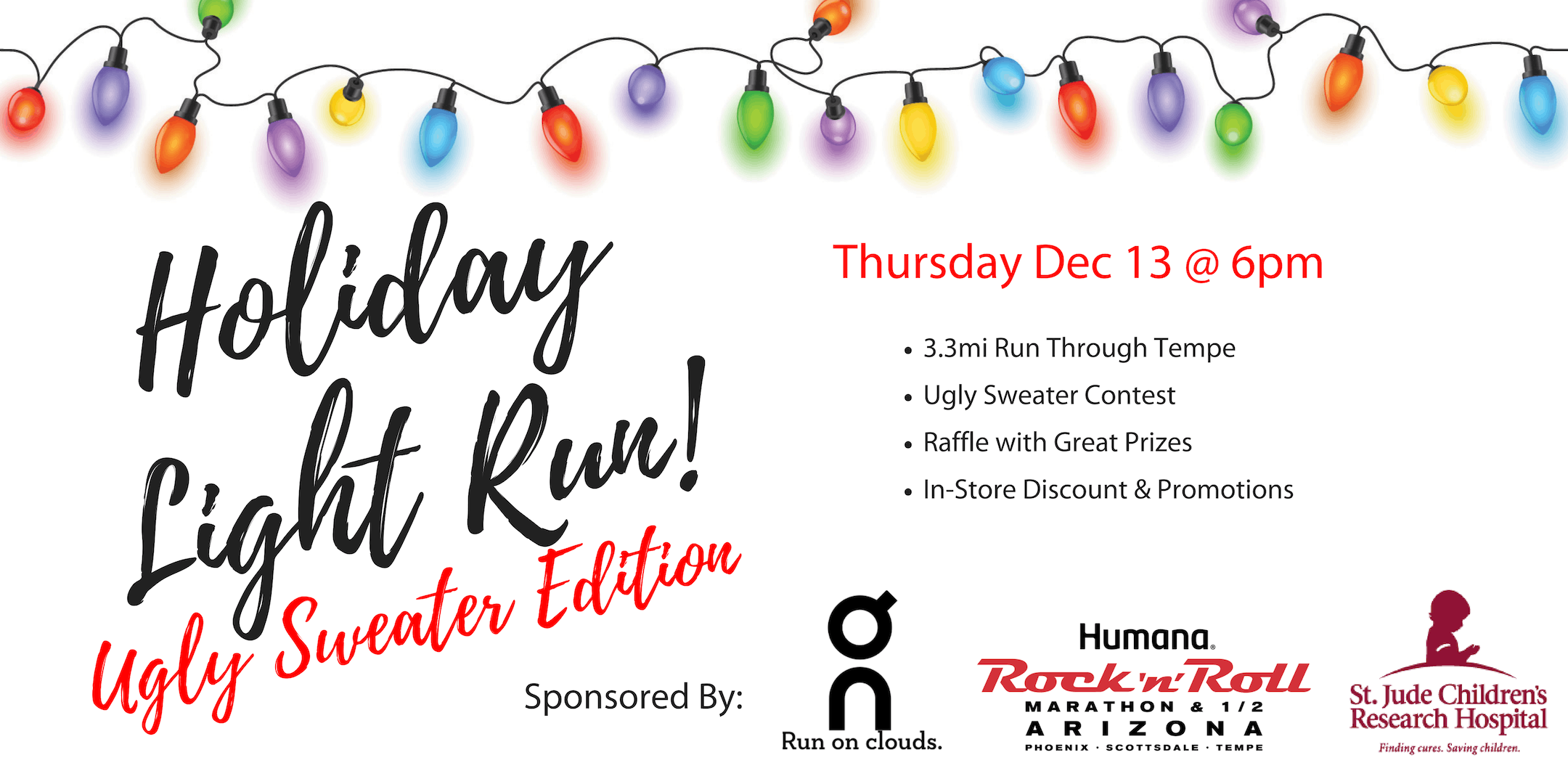 Holiday Light Run: Ugly Sweater Edition - Presented By On