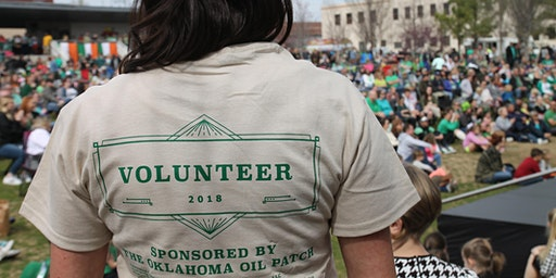 Volunteer for Tulsa Irish Festival at Guthrie Green 2020