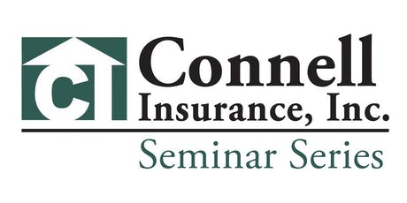 Connell's Summer 2019 Seminar tickets