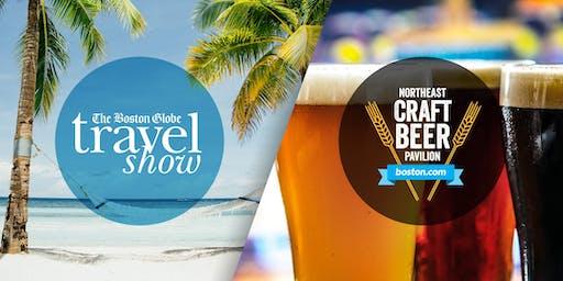 波士顿环球旅行展&波士顿手工啤酒馆