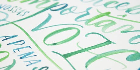 Workshop Desenhando Letras – Lettering com Juliana Moore ingressos