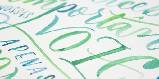 Workshop Desenhando Letras – Lettering com Juliana Moore