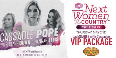 """""""backSTAGES with Cassadee"""" VIP Package @ Marina Pointe!"""