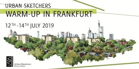 Urban Sketchers Warm-Up in Frankfurt Tickets